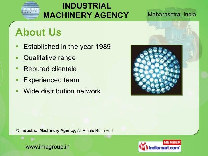Energy Saving Solutions by Industrial Machinery Agency Mumbai Slide 2