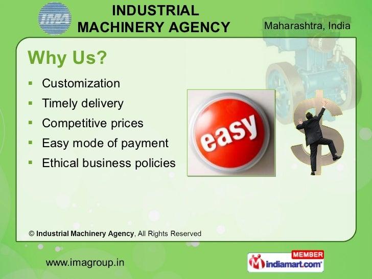Energy Saving Solutions by Industrial Machinery Agency Mumbai Slide 3