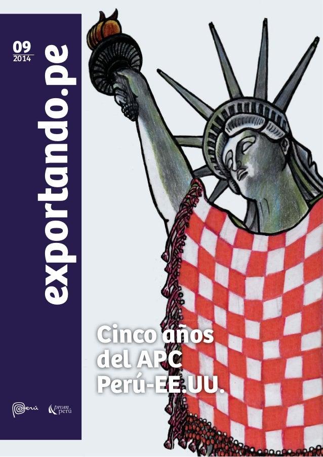 exportando.pe092014 Cinco años del APC Perú-EE.UU.
