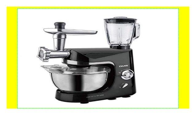 Knetmaschine Rühr Küchen Maschine Fleischwolf Elektrisch Standmixer Blender 5L