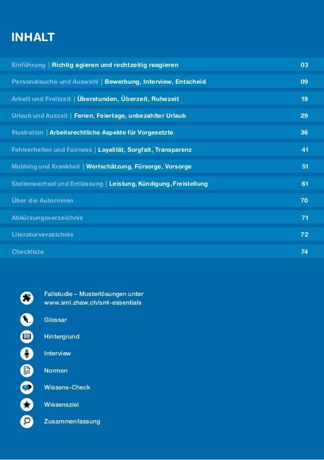 Arbeitsrechtliche Aspekte Für Vorgesetzte Leseprobe