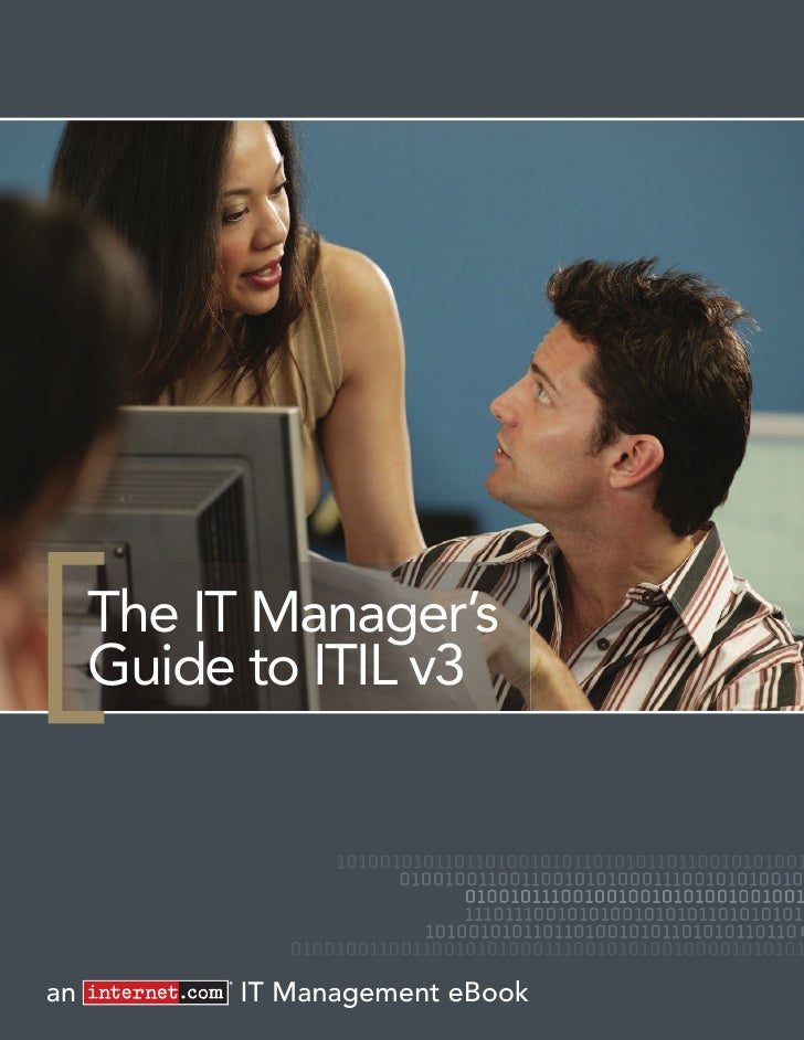 The IT Manager's      Guide to ITIL v3     an        IT Management eBook