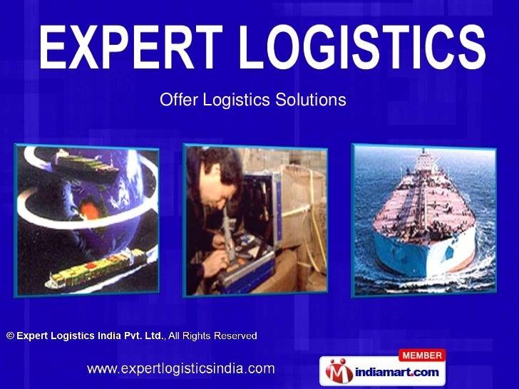 Offer Logistics Solutions<br />