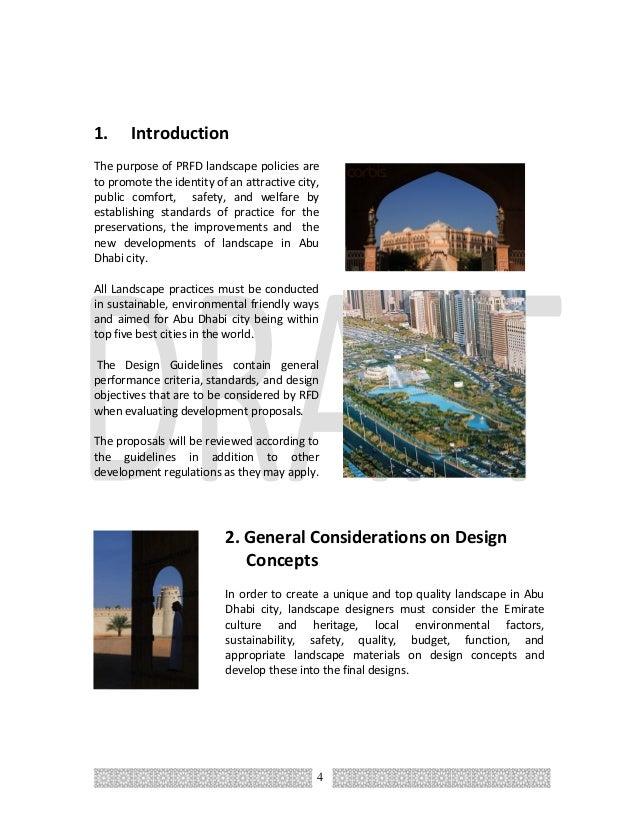 LANDSCAPE DESIGN GUIDELINES