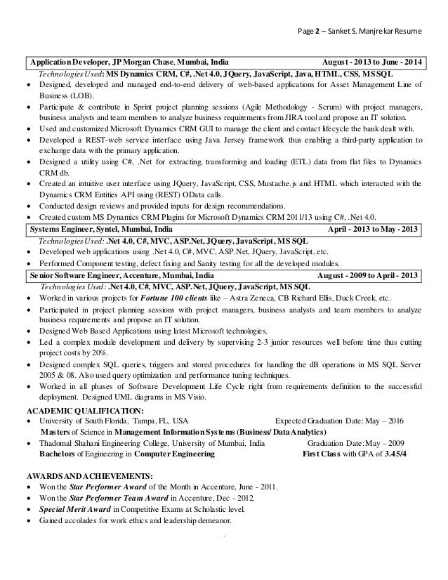 Mobile Application Developer Resume Sample Velvet Jobs Nilesh
