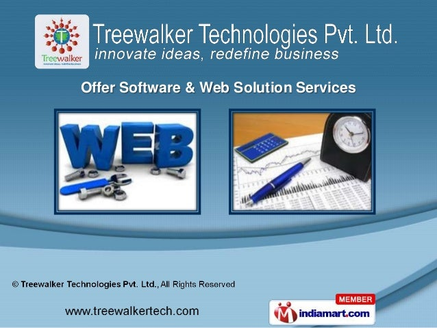 Offer Software & Web Solution Services