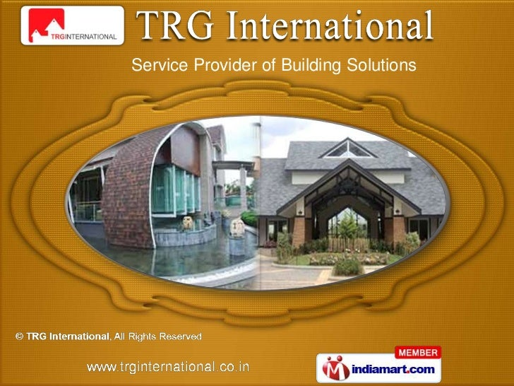 Service Provider of Building Solutions
