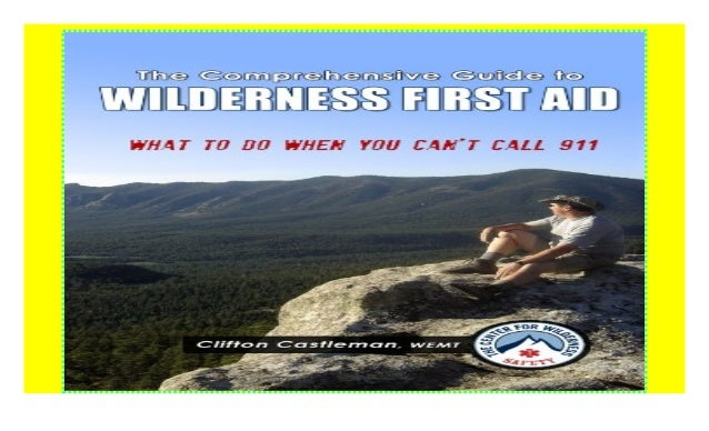 Wilderness First Aid Pdf