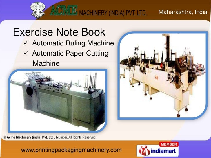 Carton Folder And Gluer Machine By Acme Machinery India