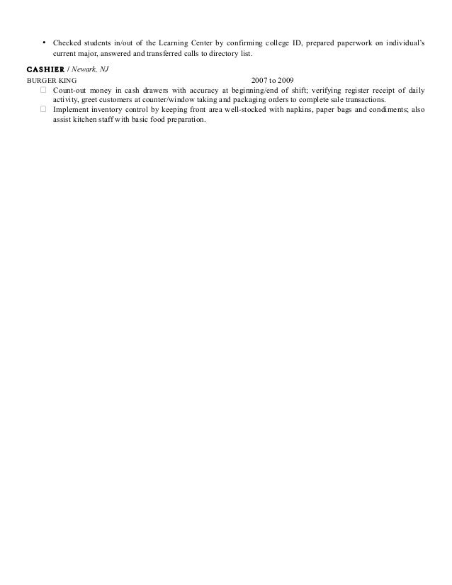 shidea mclean professional resume 1 Model Portfolio Resume