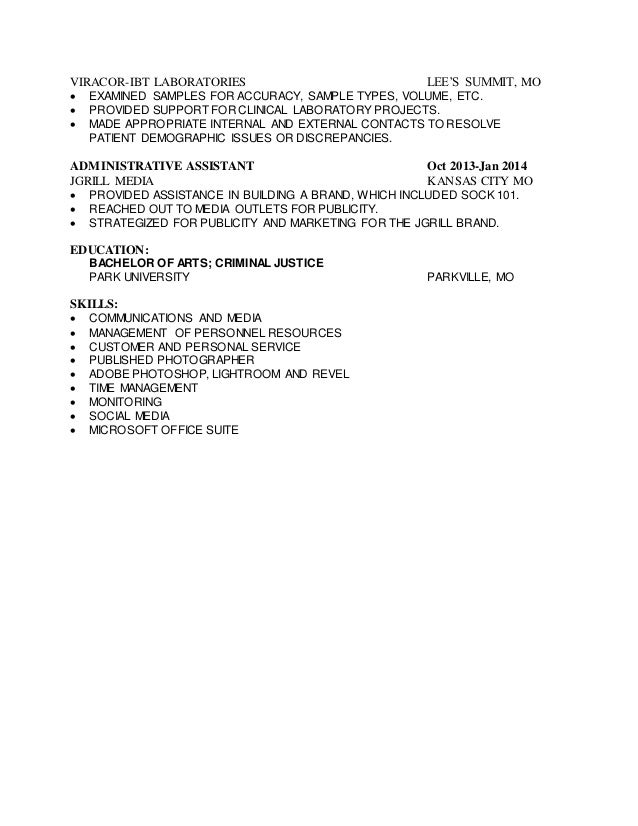 Resume NYC Entertainment Industry – Sample Resume for Entertainment Industry
