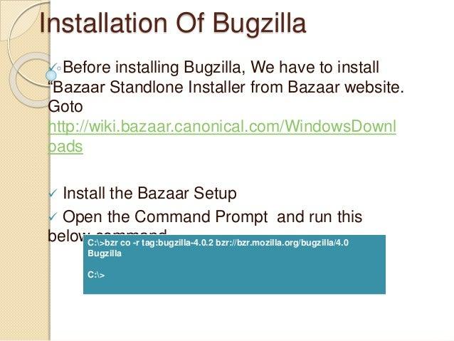 Bugzilla Installation Process