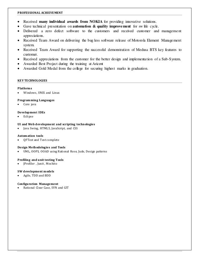 Raghavendra Prasad Reddy_resume Slide 2