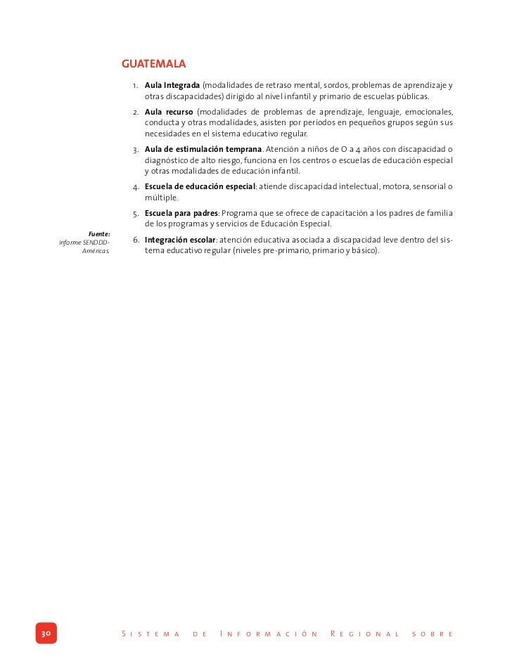 bRASIL                                    Tipo de Necesidades Educativas Especiales                                 1. Ceg...