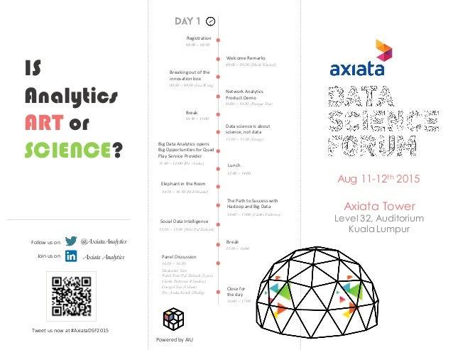 Axiata Data Forum Brochure