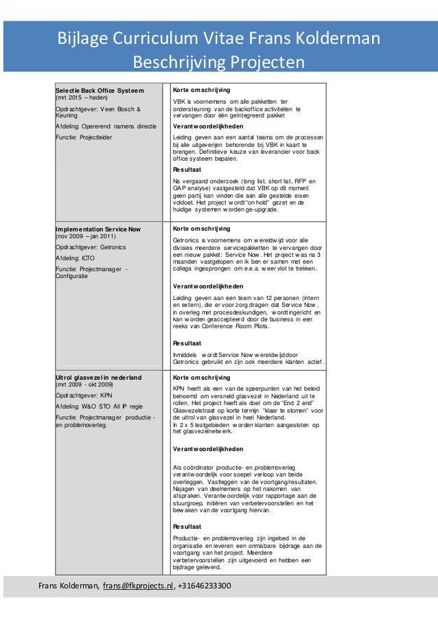 curriculum vitae wel of niet met hoofdletters