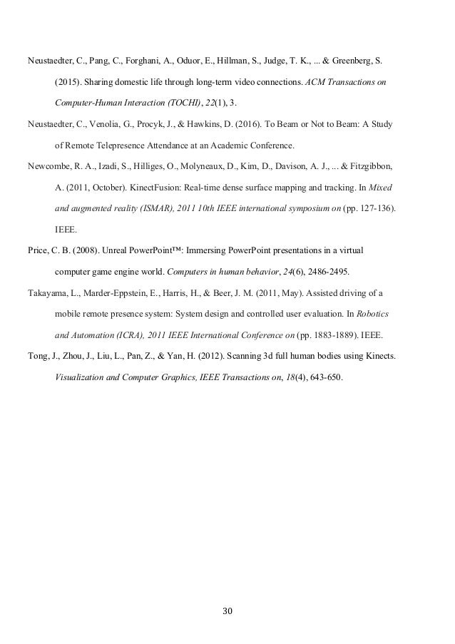 30 Neustaedter, C., Pang, C., Forghani, A., Oduor, E., Hillman, S., Judge, T. K., ... & Greenberg, S. (2015). Sharing dom...