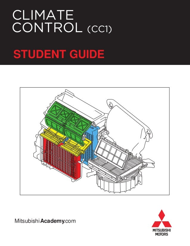 Climate Control Student Guide - Mitsubishi academy