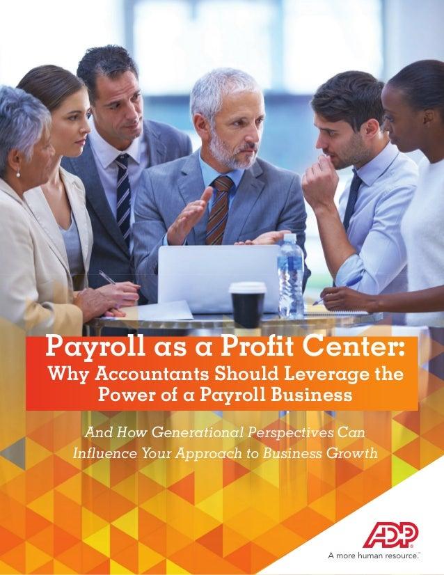 Payroll as a Profit Center