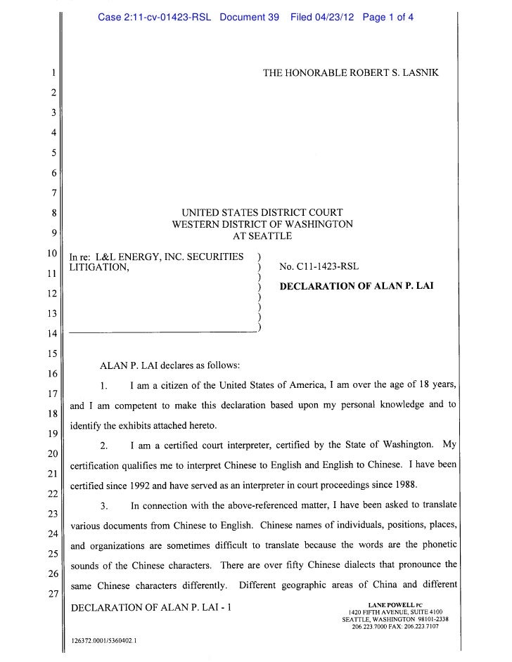 Case 2:11-cv-01423-RSL Document 39   Filed 04/23/12 Page 1 of 4