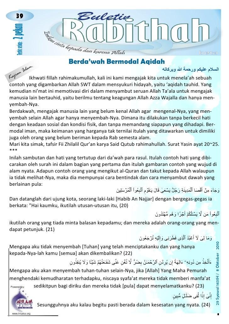 39                                                    021                                             Berda'wah Bermodal A...