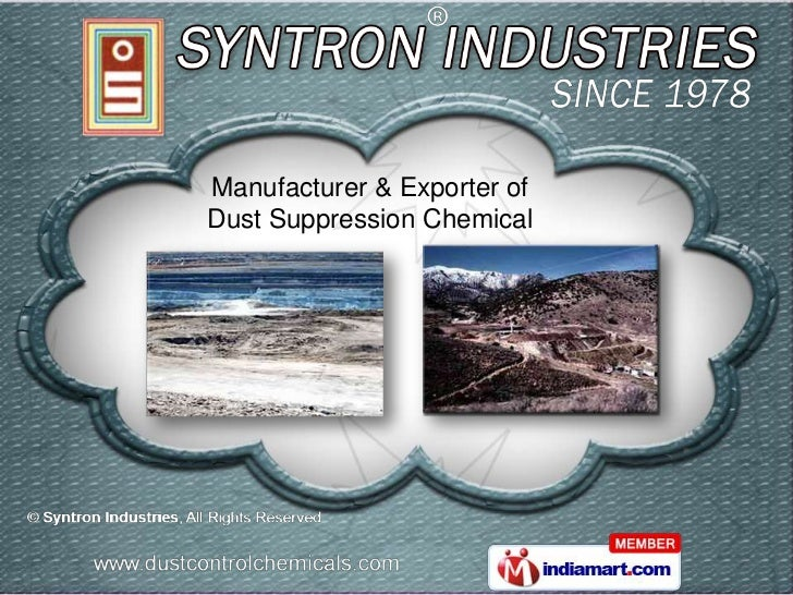 Manufacturer & Exporter ofDust Suppression Chemical