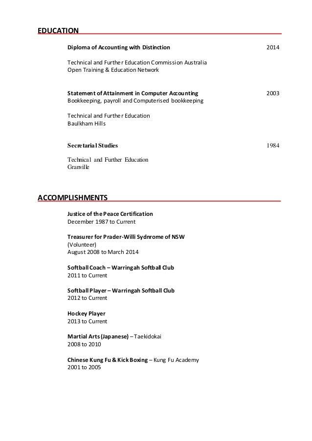 sharyn resume