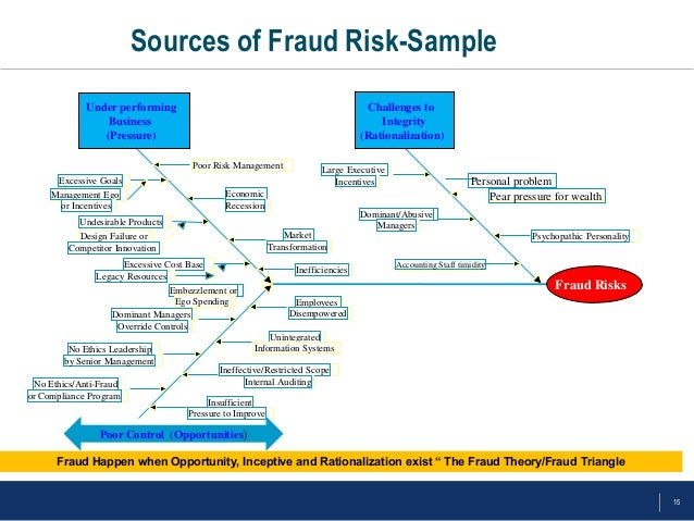 Fraud corruption risk assessment methodology 8 sources of fraud risk sample maxwellsz