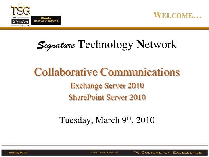 Signature                  TECHNOLOGY NETWORK                                                                             ...