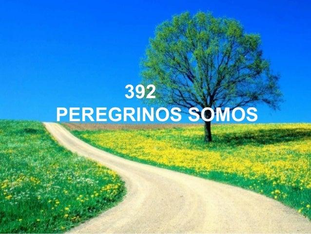 392 PEREGRINOS SOMOS