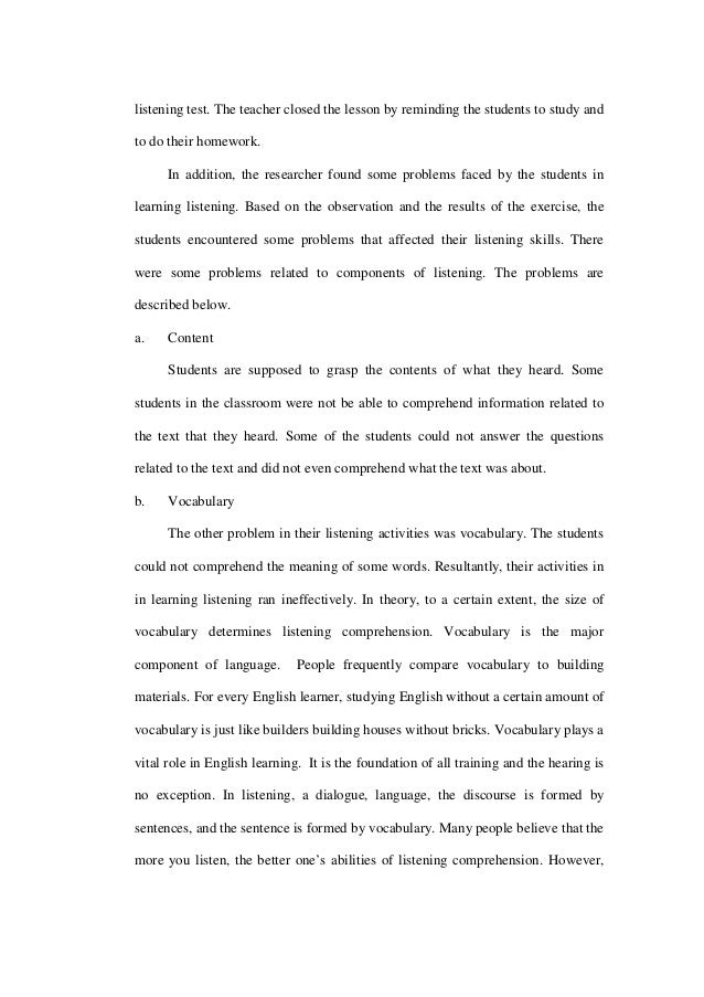 Thesis A DESCRIPTIVE STUDY ON THE PROBLEMS OF TEACHING