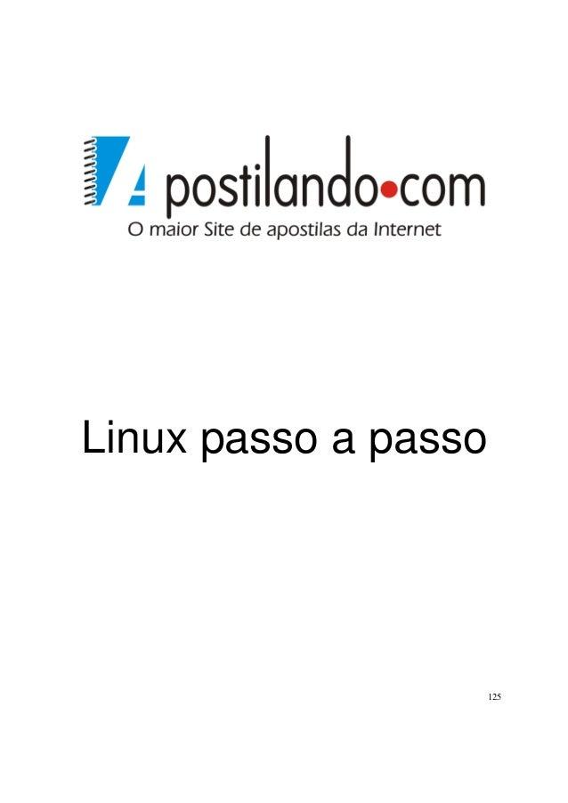 Linux passo a passo  125