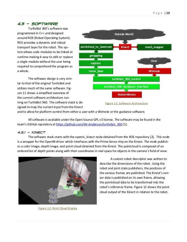 Autonomous Indoor Mapping Using The Microsoft Kinect Sensor