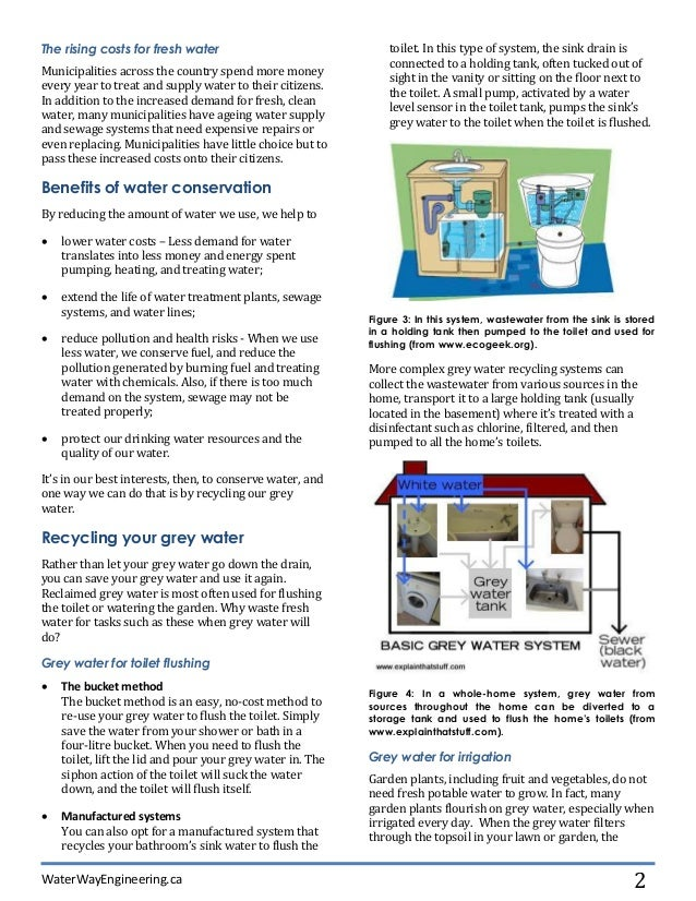 A Homeowneru0027s Guide To Grey Water Recycling; 2.