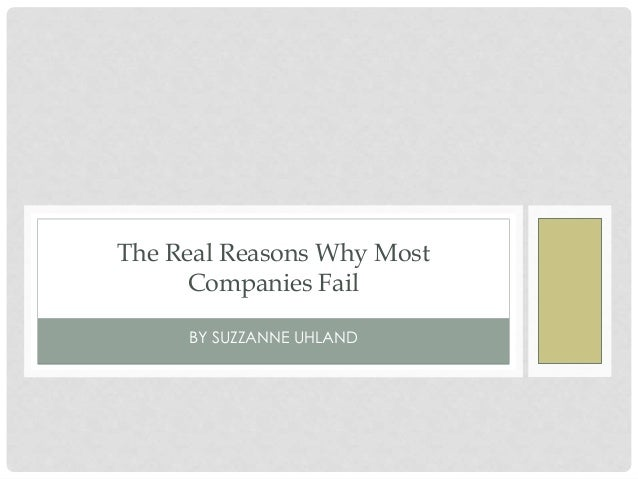 why succesful companies fail But with something like an 80-percent failure rate, creating a successful online  business is more challenging than some entrepreneurs imagine.