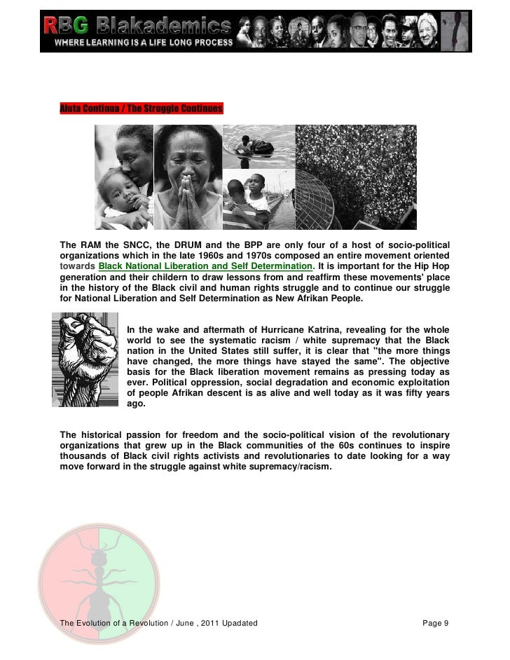 black liberation the historical development of Message to the black movement  in this historical period of human social development such is the  what is protracted war in the black liberation struggle.