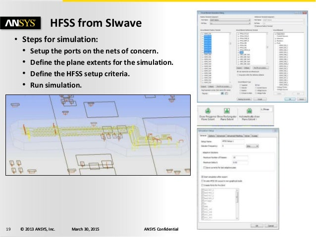 Using HFSS with SIwave to Optimize PCB Design