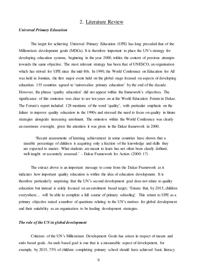 Education dissertation examples creative writing test