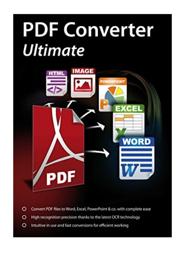 PDF Converter Ultimate - Convert PDF files to Word, Excel, PowerPoint…