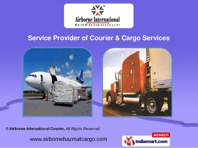 Service Provider of Courier & Cargo Services