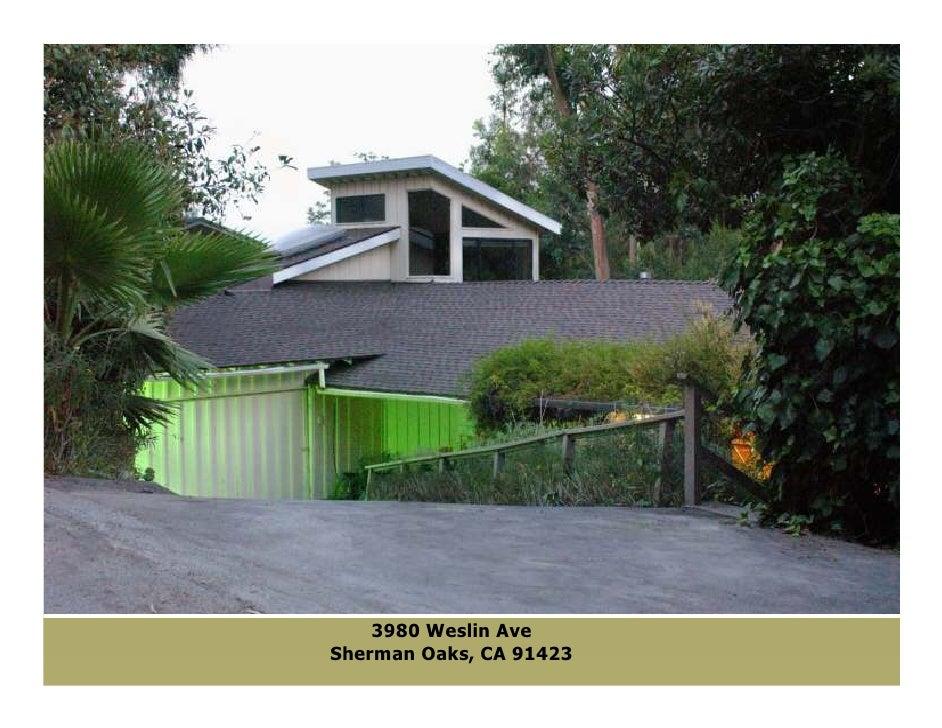 3980 Weslin Ave Sherman Oaks, CA 91423