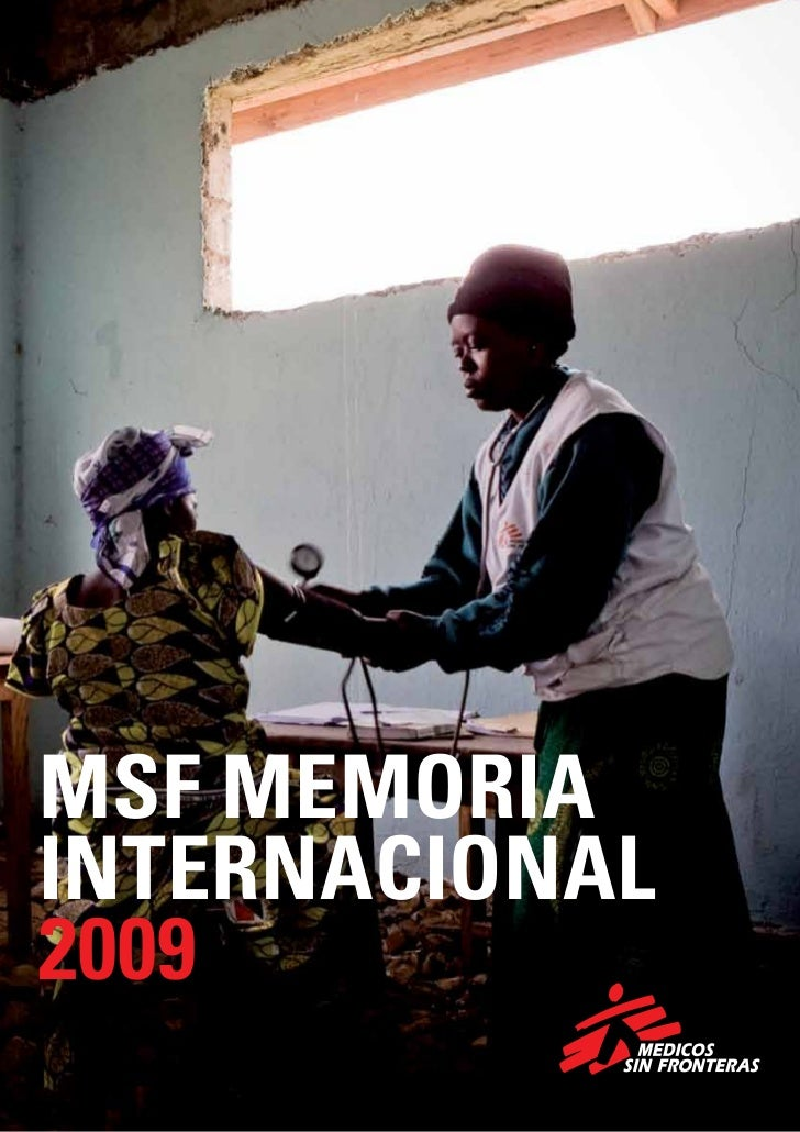 MSF MEMORIAINTERNACIONAL2009