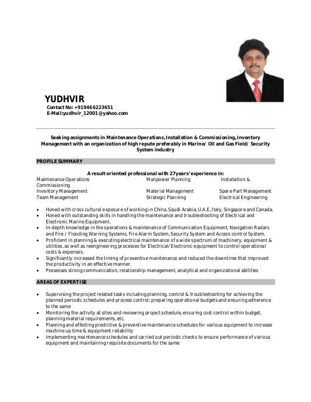 Merchant Navy Resume Resume Ideas