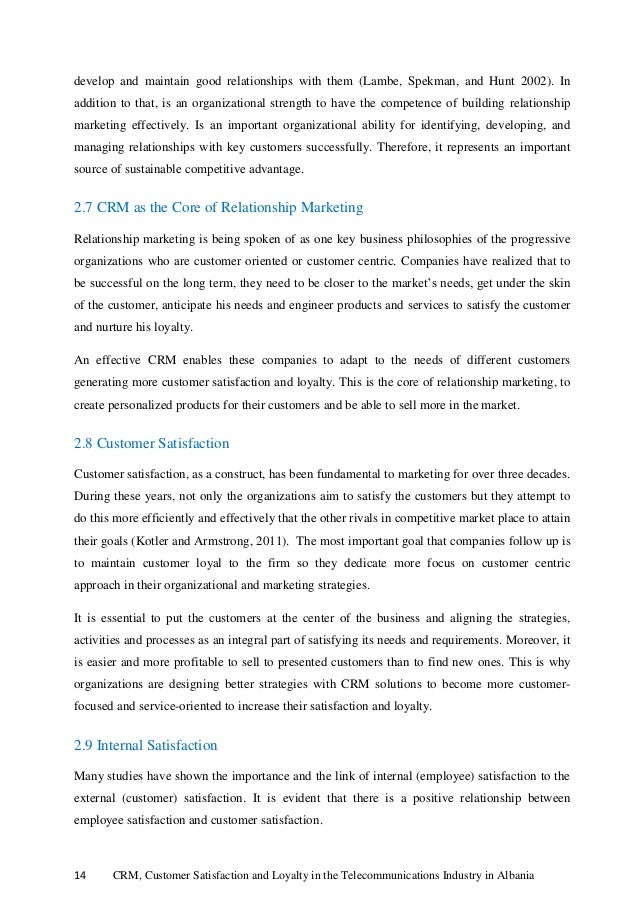 Master thesis telecommunications