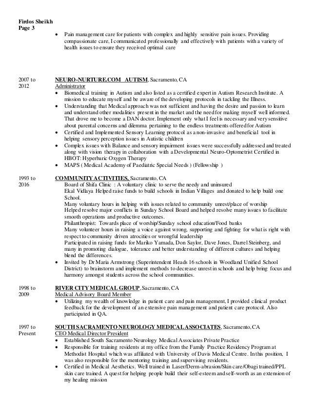 medical scribe resume
