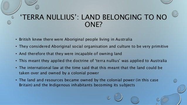 Talk:Terra nullius