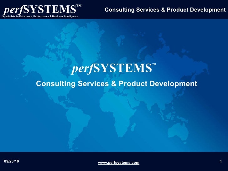 perf SYSTEMS Consulting Services & Product Development TM