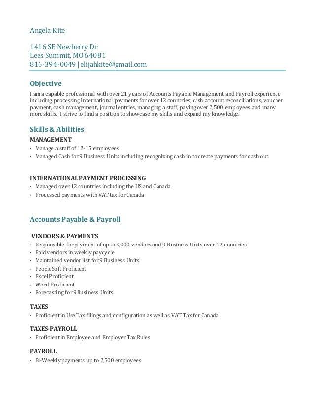 Angela Kite 1416 SE Newberry Dr Lees Summit, MO64081 816-394-0049 | elijahkite@gmail.com Objective I am a capable professi...