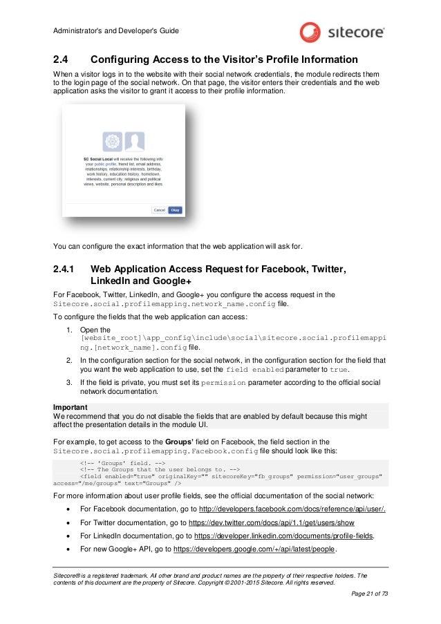 ... Application Network Google+; 21. Administratoru0027s And Developeru0027s ...