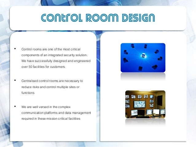 Control Room Design ... Part 88